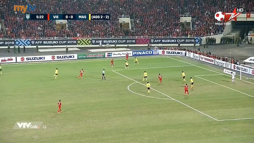 Clip: Quang Hải kiến tạo, Anh Đức ghi bàn ở phút thứ 6