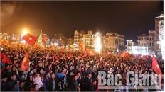 Những cảm xúc vỡ òa của người hâm mộ Bắc Giang