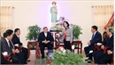 Christmas greetings sent to Catholics in Nam Dinh