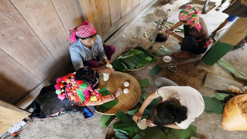 Ha Nhi ethnic people celebrate traditional New Year