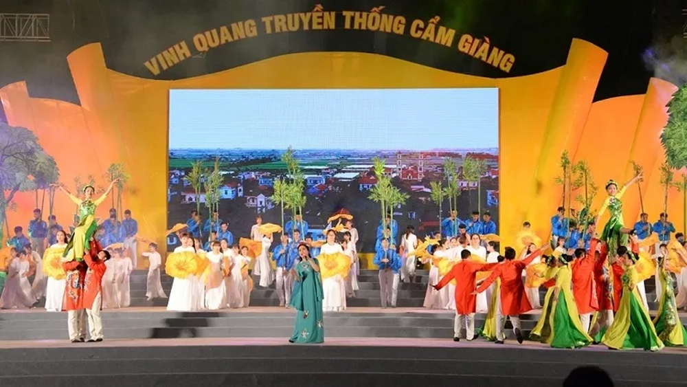 Cam Giang recognised as Hai Duong province's first rural district