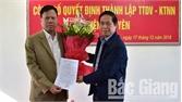 Thành lập Trung tâm Dịch vụ - Kỹ thuật nông nghiệp huyện Tân Yên