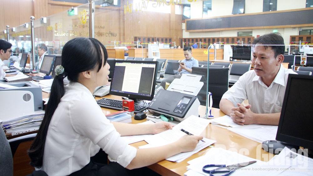 Bắc Giang, thủ tục hành chính, môi trường đầu tư, kinh doanh, cắt giảm thời gian, người dân, doanh nghiệp