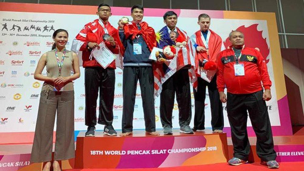 Vietnam finish second at World Pencak Silat champs