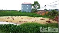 Bán đất trái phép ở xã Vân Hà (Việt Yên): Đề nghị Công an huyện điều tra, làm rõ