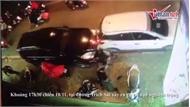 Tài xế Lexus đâm loạt xe la liệt ven hồ Tây