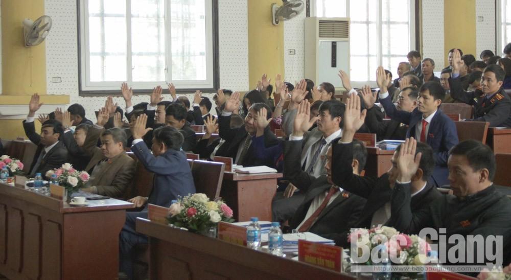 Lục Nam: Các chỉ tiêu KT-XH năm 2018 cơ bản hoàn thành và vượt mức