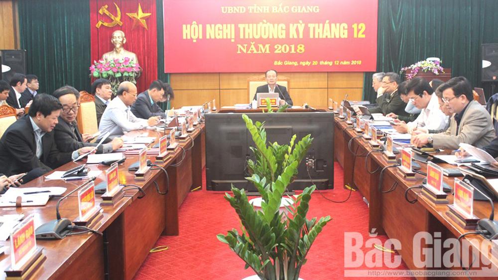 UBND tỉnh họp phiên thường kỳ tháng 12: Tập trung tăng thu ngân sách, chuẩn bị tốt điều kiện đón Tết Nguyên đán
