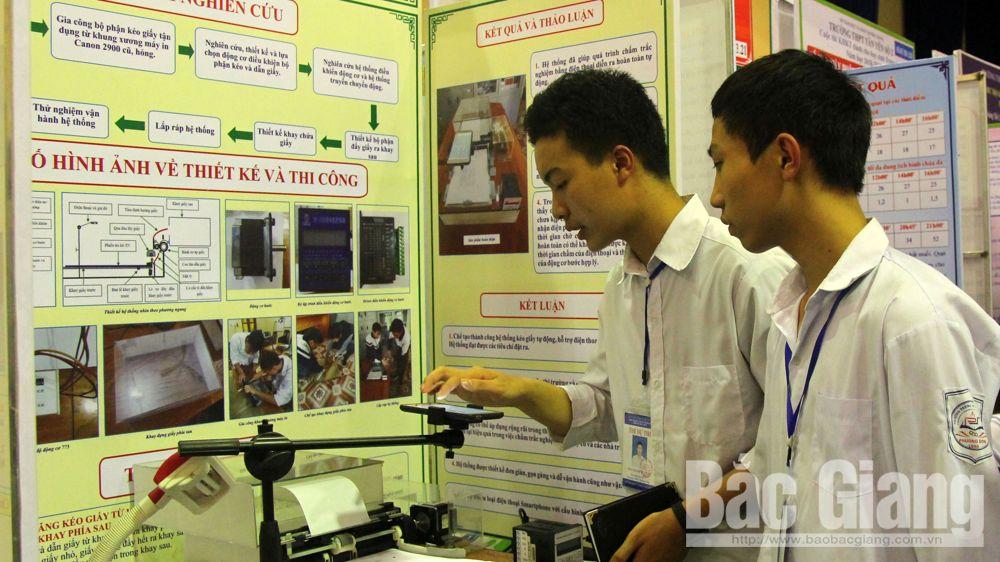 8 dự án giành giải Nhất cuộc thi khoa học kỹ thuật dành cho học sinh trung học