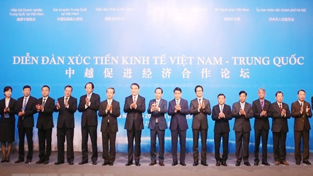 Vietnam-China, economic cooperation, Boao Forum for Asia, Chinese Embassy, Vietnam Ministry of Foreign Affairs, economic exchanges, Government level