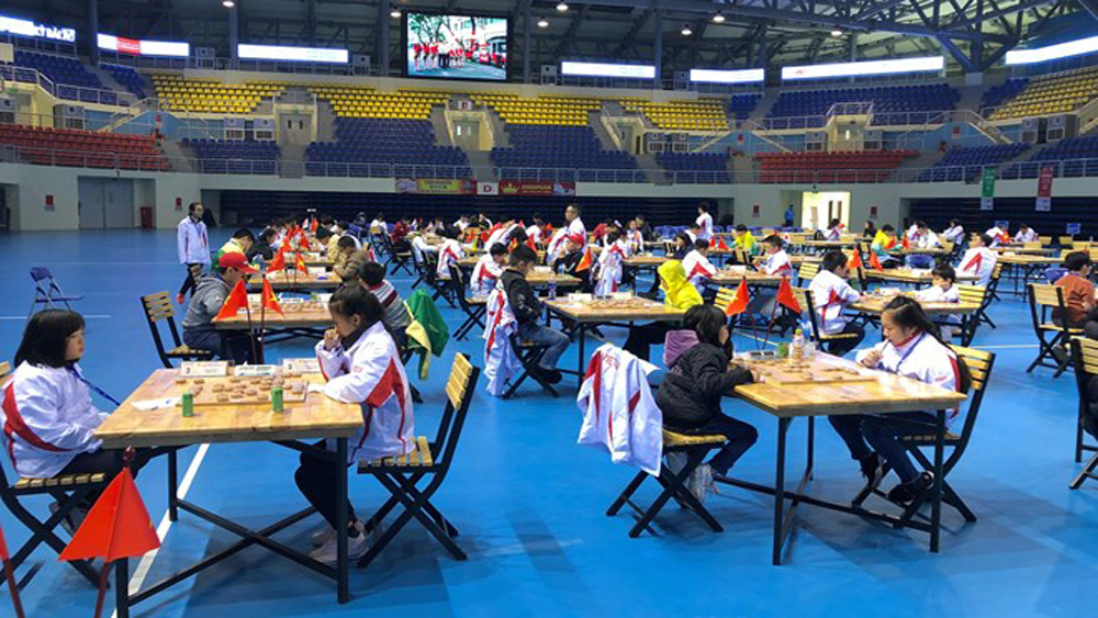 Asian Youth Xiangqi, Chinese chess, Championship Vietnam Open, gold medals, Quang Ninh province, Ha Long city