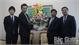 Lãnh đạo tỉnh Bắc Giang chúc mừng Đại sứ quán Nhật Bản tại Việt Nam nhân dịp năm mới