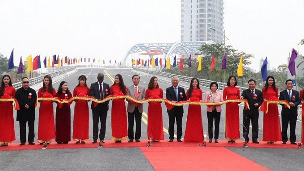Thai Nguyen puts VND436 billion bridge into operation