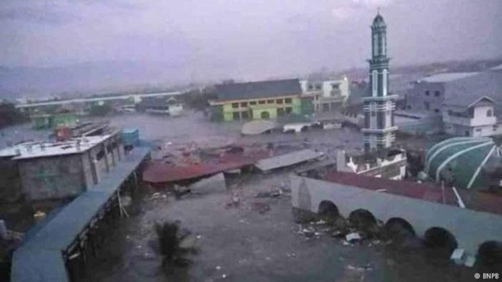 Sóng thần tại Indonesia, hàng trăm người thương vong