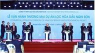 Thủ tướng Nguyễn Xuân Phúc dự lễ vận hành thương mại Liên hợp Lọc hóa dầu Nghi Sơn