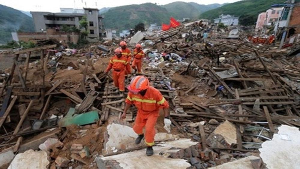 Động đất mạnh 5,8 độ tại Tây Tạng, Trung Quốc
