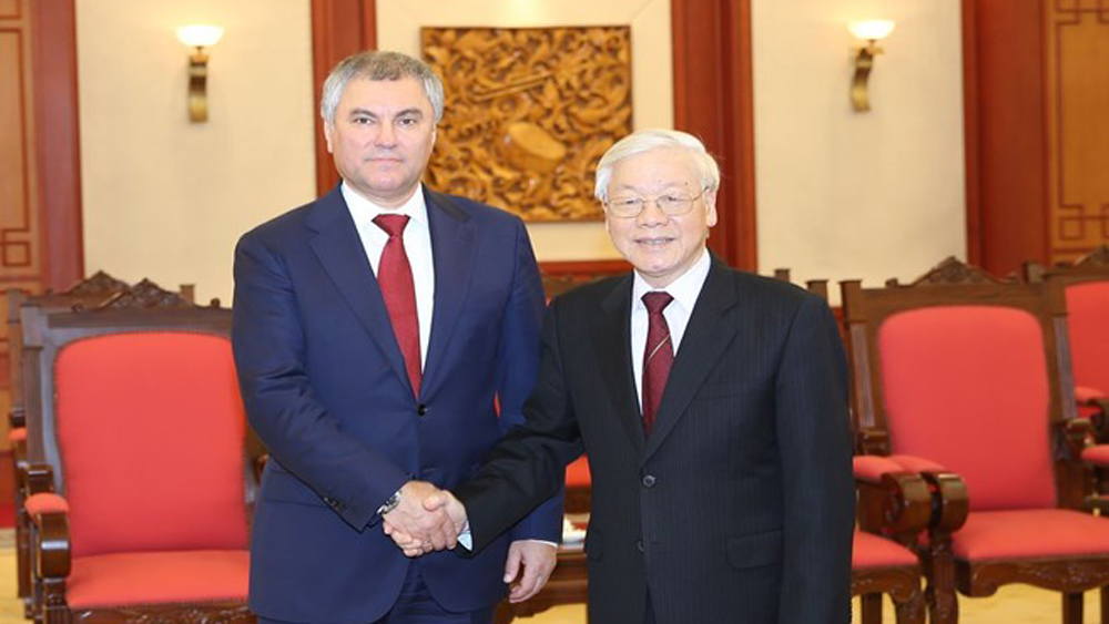 Vietnam treasures partnership with Russia: top leader