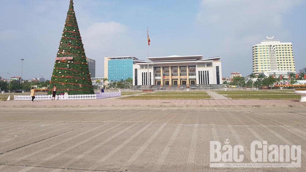 Hình ảnh đẹp trong lễ Giáng sinh, TP Bắc Giang