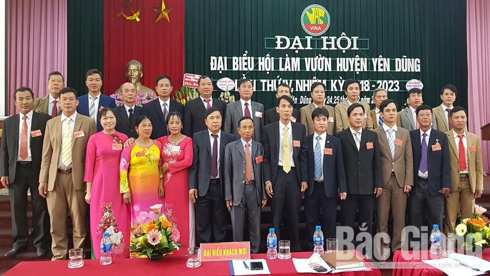 Hội Làm vườn huyện Yên Dũng phấn đấu 80% cơ sở hội xếp loại vững mạnh
