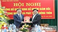Ông Dương Thanh Tùng giữ chức Giám đốc Sở Nông nghiệp và PTNT