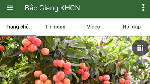 App 4G Plus – Ứng dụng cung cấp thông tin về khoa học công nghệ đầu tiên tỉnh Bắc Giang