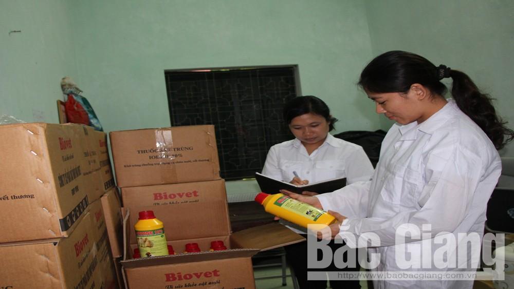 Hỗ trợ vắc xin và hóa chất để phòng chống dịch động vật