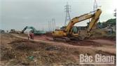 Hỗ trợ thi công tuyến đường cao tốc Bắc Giang- Lạng Sơn