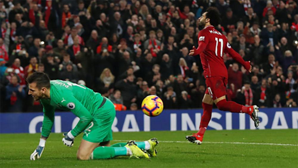 Liverpool bỏ xa Man City tới 7 điểm