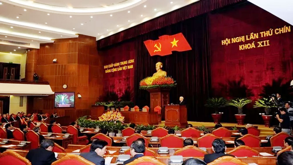 CPV Central Committee, Communist Party of Vietnam, Nguyen Phu Trong, past achievements, new driving force, two-day session, important role, socio-economic development plan, qualified and prestigious personnel