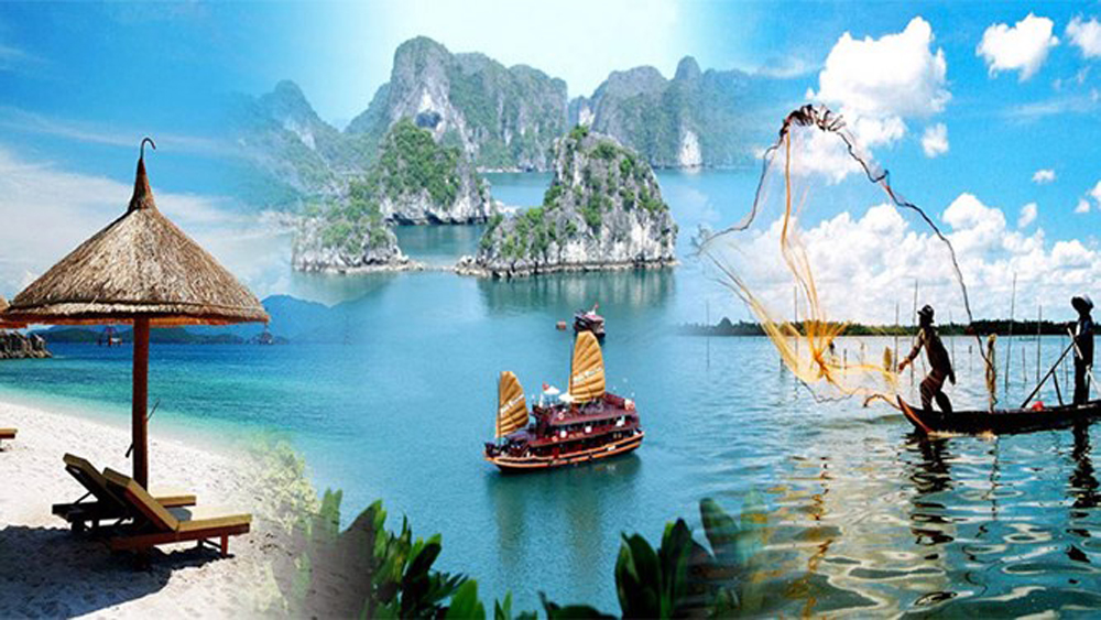 Tourism revenue, 620 trillion VND, Vietnam National Administration of Tourism, attractive new destination, international tourists, tourism industry