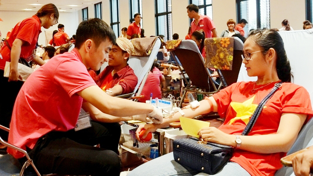 39 cities and provinces respond to 'Red Sunday' blood donation programme