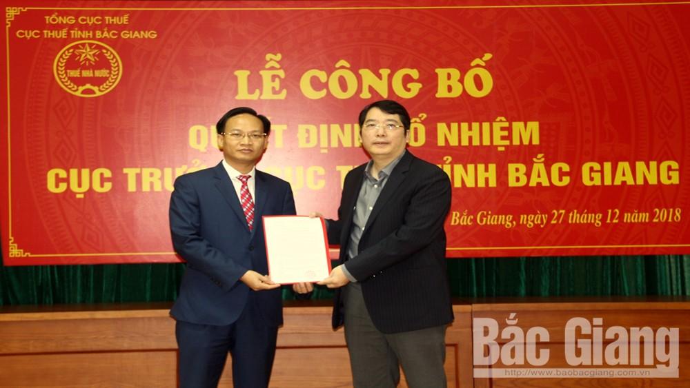 Cục Thuế Bắc Giang, Cục trưởng Cục Thuế Bắc Giang, Phạm Văn Thịnh