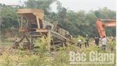 Xử phạt đối tượng khai thác khoáng sản trái phép tại xã Phú Nhuận