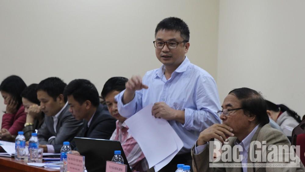 Bắc Giang: Tư vấn, phản biện kết quả phát triển nông nghiệp 20 năm qua và định hướng đến năm 2030