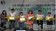 """Bắc Giang có một tác phẩm đạt giải thưởng """"Sáng tạo xanh"""""""