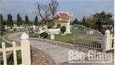 UBND tỉnh Bắc Giang điều chỉnh dự án Công viên nghĩa trang An Phúc Viên