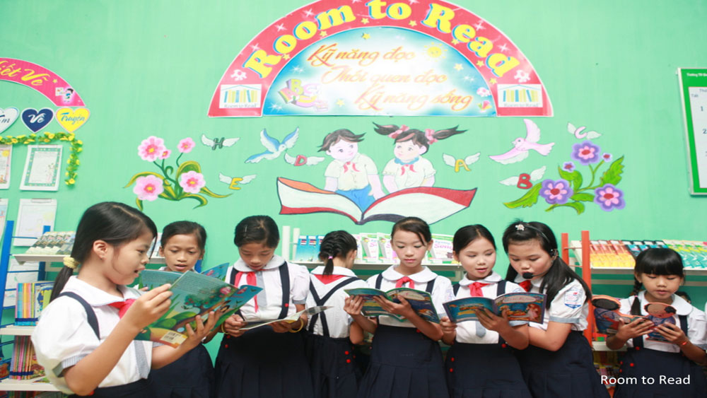 Room to Read helps improve reading skill and culture to students