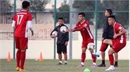 Tuyển Việt Nam tập buổi đầu tại Qatar