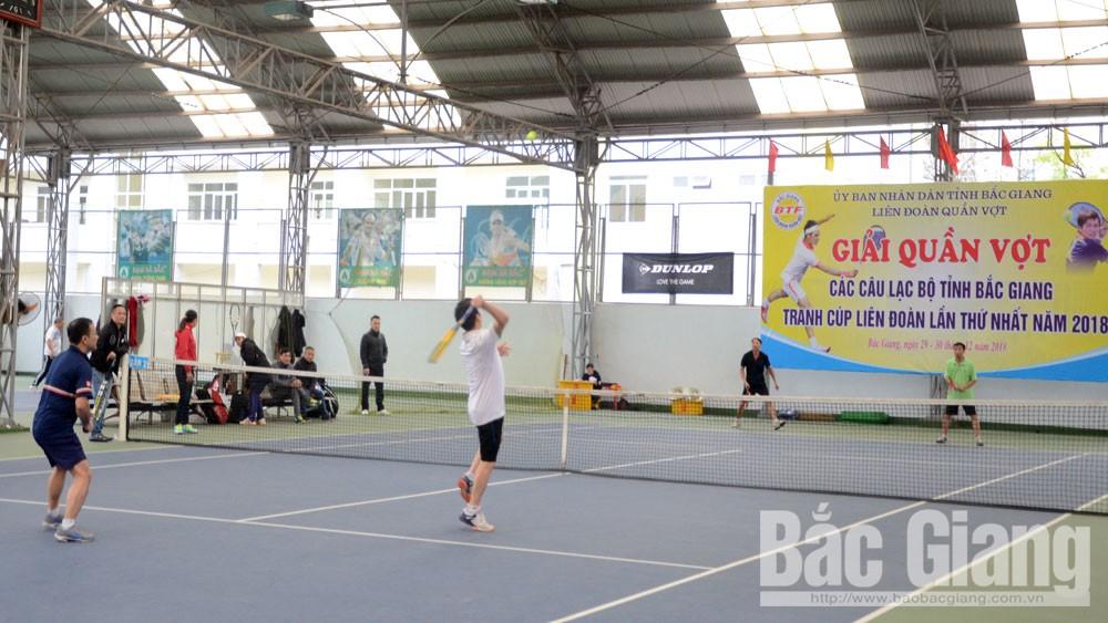 130 VĐV tham gia giải quần vợt các câu lạc bộ tranh Cúp Liên đoàn lần thứ nhất