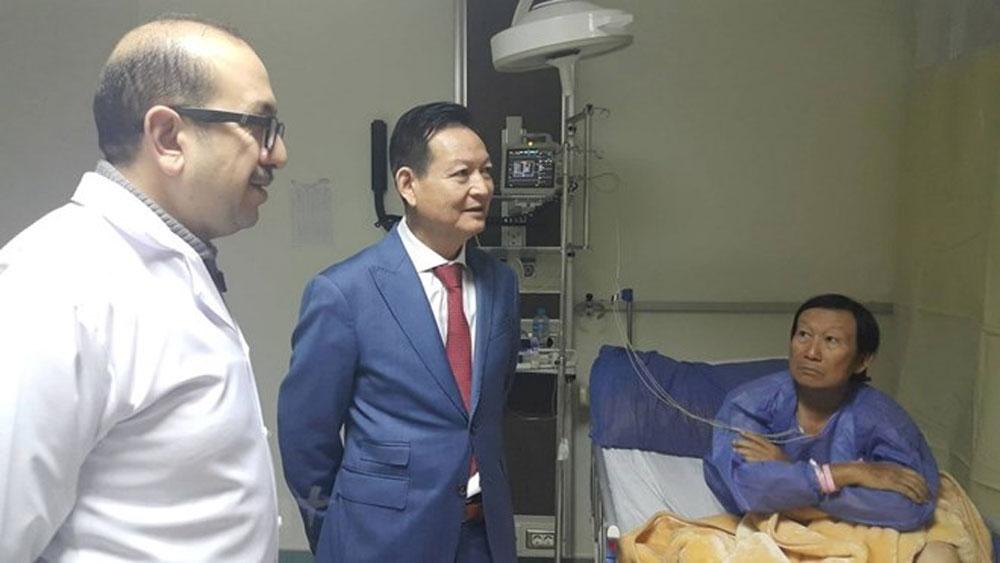 Hỗ trợ công dân Việt Nam và các gia đình bị ảnh hưởng vụ đánh bom tại Ai Cập