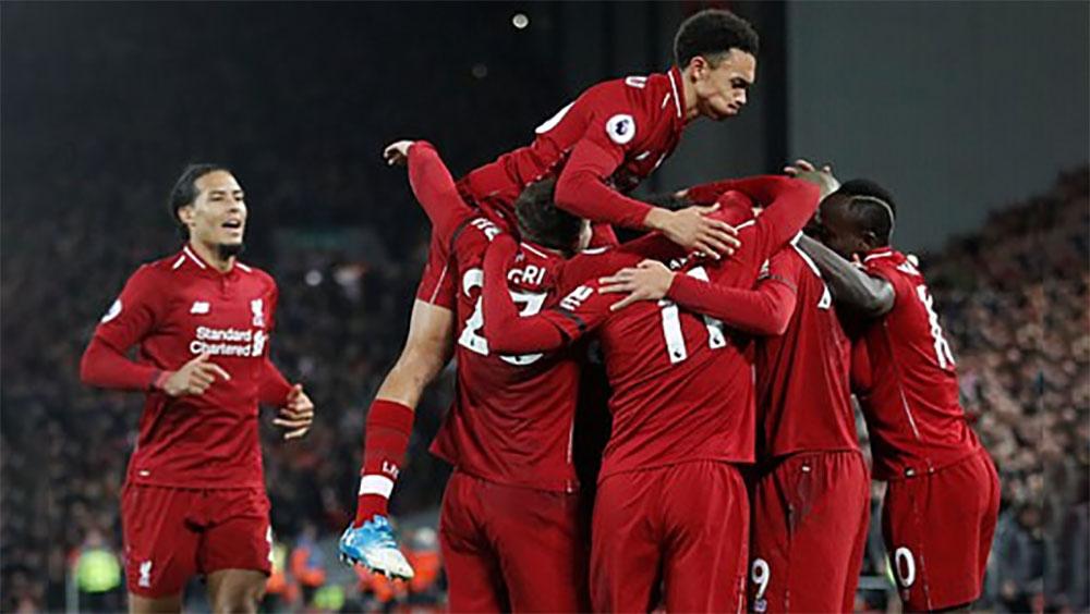 Liverpool thắng đậm Arsenal