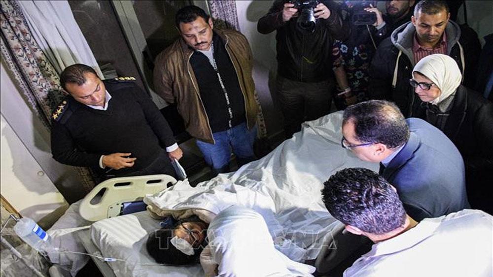 Đoàn khách Việt Nam trong vụ nổ bom ở Ai Cập: Cam kết thực hiện bảo hiểm thỏa đáng nhất cho du khách