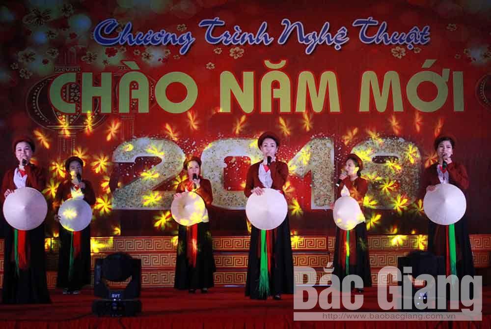 Bắc Giang, thanh niên, văn hóa, văn nghệ, chào năm mới, 2019