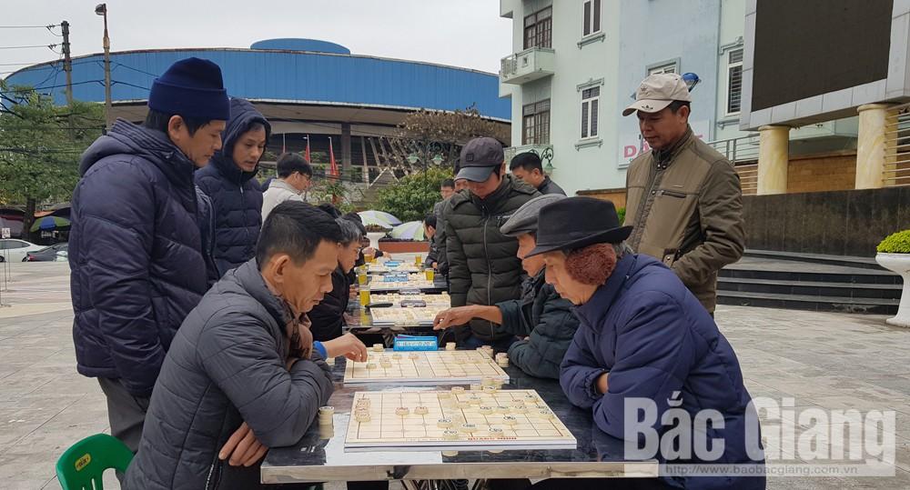 TP Bắc Giang, sôi nổi hoạt động văn hóa - thể thao mừng Xuân 2019, Bắc Giang