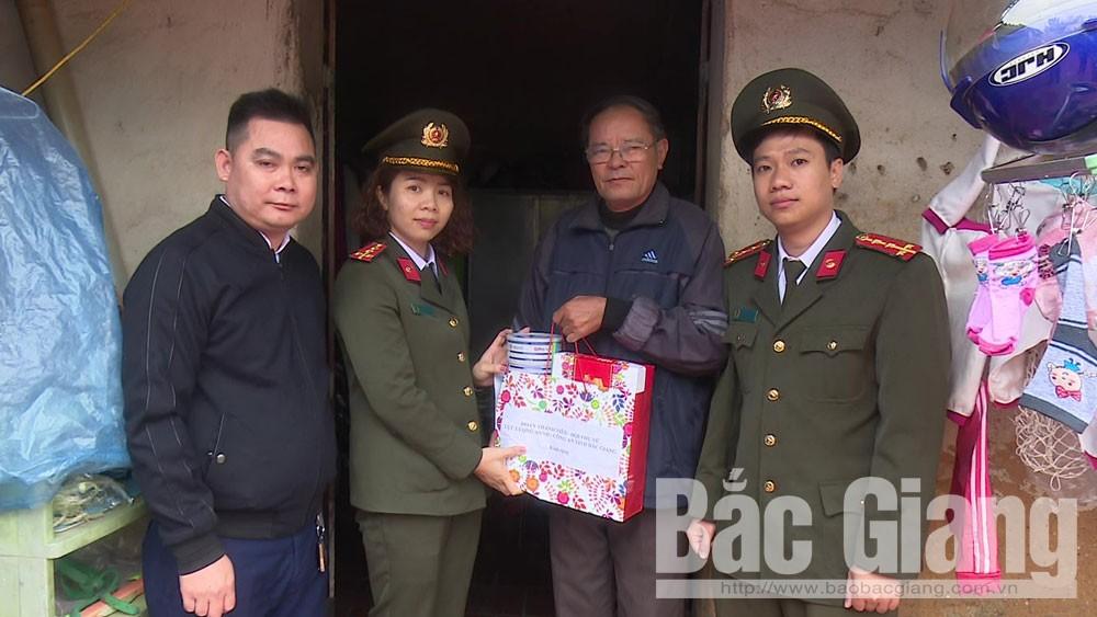 Yên Dũng, Công an tỉnh, hoạt động, xây dựng nông thôn mới
