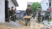 """""""Chung tay xây dựng nông thôn mới"""" tại xã Thắng Cương"""