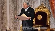 Thông điệp năm mới cuối cùng của Nhật Hoàng Akihito trước khi thoái vị