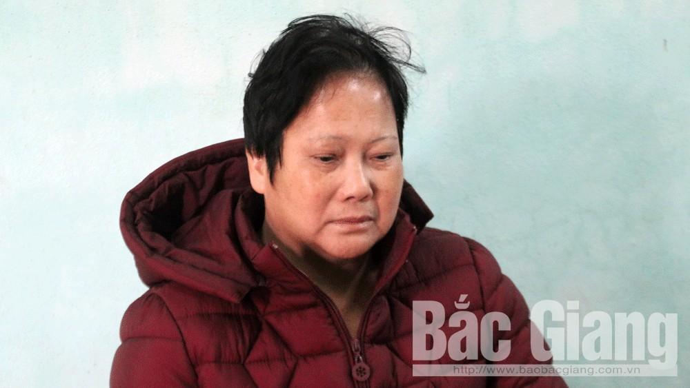 Công an huyện Lạng Giang, Nguyễn Thanh Hương, lừa đảo chiếm đạt tài sản