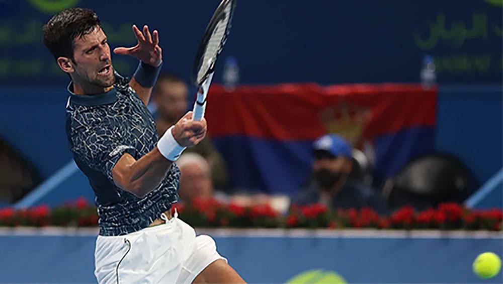 Djokovic vào bán kết Qatar Mở rộng