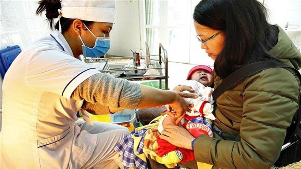 Bộ Y tế, 90.000 trẻ nhỏ, toàn quốc, tiêm vắcxin ComBE FIVE